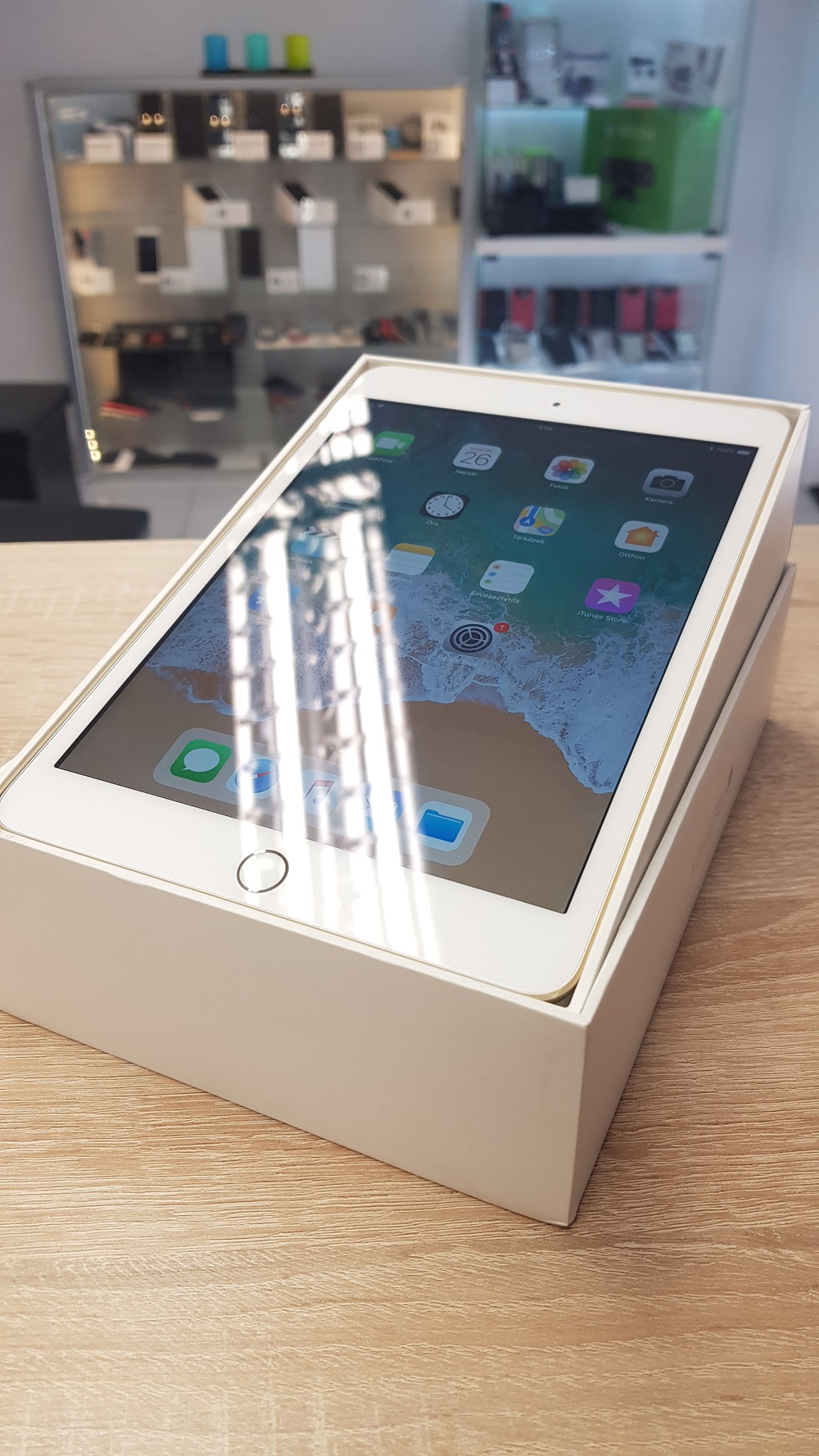 Apple iPad Mini 3 Fehér 128 Gb